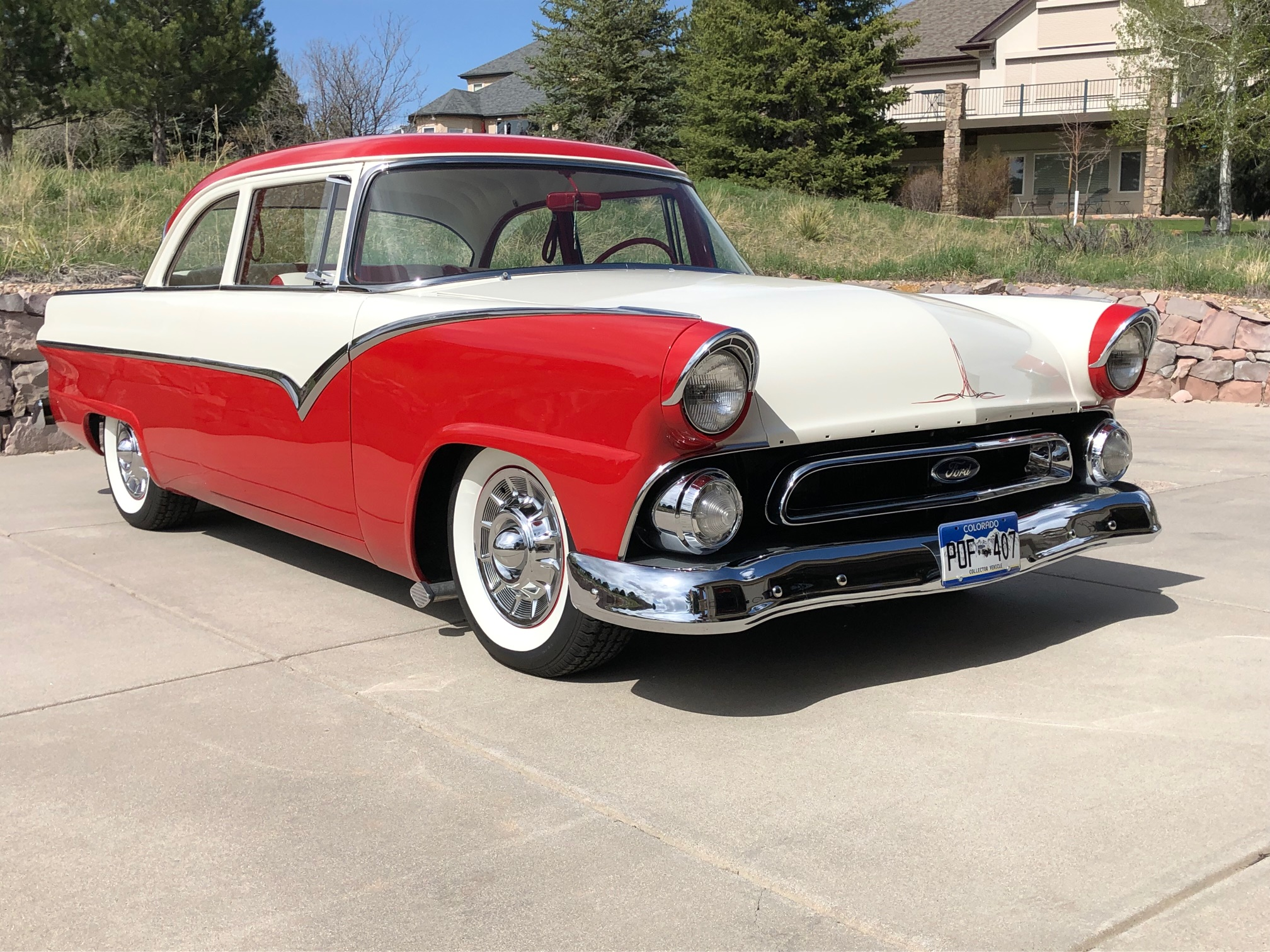 Malinowski loves automobiles and recently completed a project to rebuild a 1955 Ford.